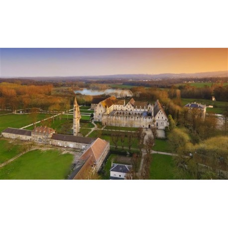 Panorama Abbaye de Royaumont