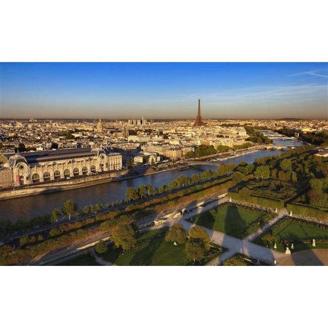 Musee d'Orsay et Tour Eiffel