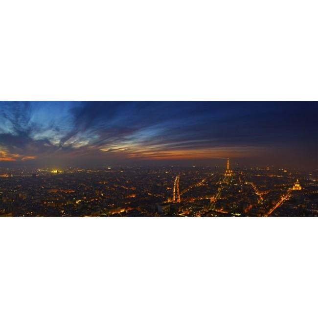 Vue de Nuit Paris