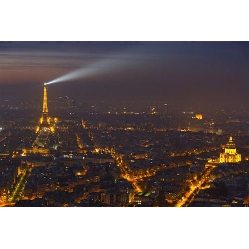 Vue de Nuit Tour Eiffel